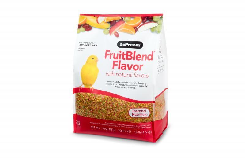 ZuPreem FruitBlend Extra Small 4,54 kg