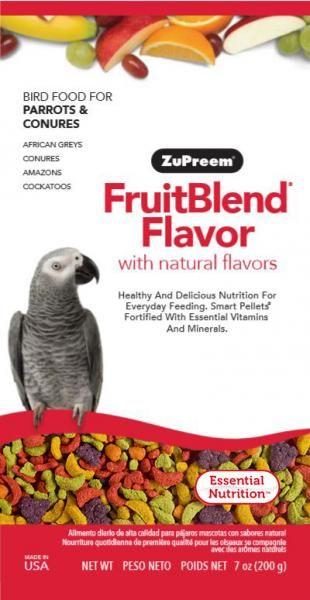 ZuPreem FruitBlend Medium/Large 200 g