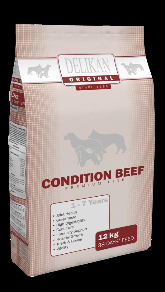 DELIKAN ORIGINAL – CONDITION BEEF 12 KG