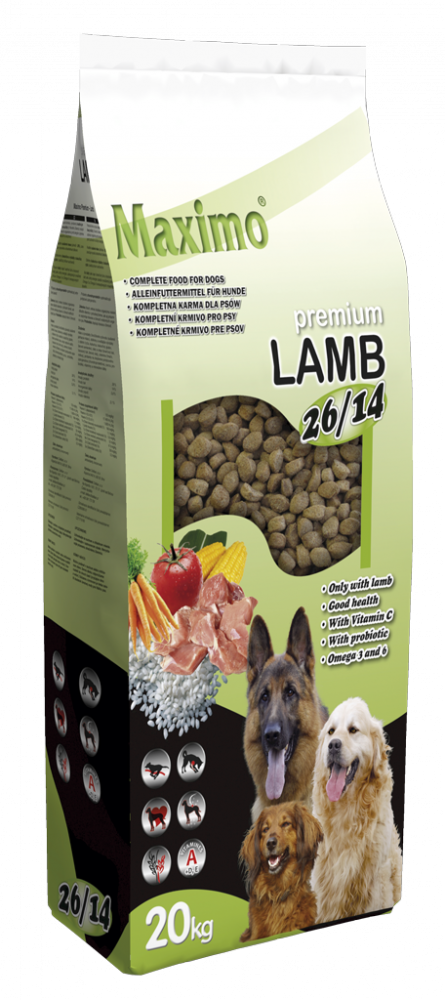 MAXIMO LAMB AND RICE – 20 KG