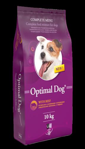 OPTIMAL DOG – HOVĚZÍ 10 KG