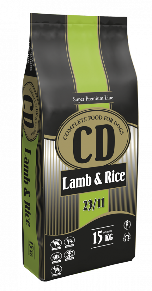 CD LAMB AND RICE - 15 KG