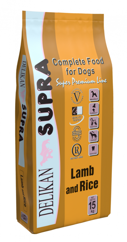 SUPRA LAMB AND RICE - 15 KG