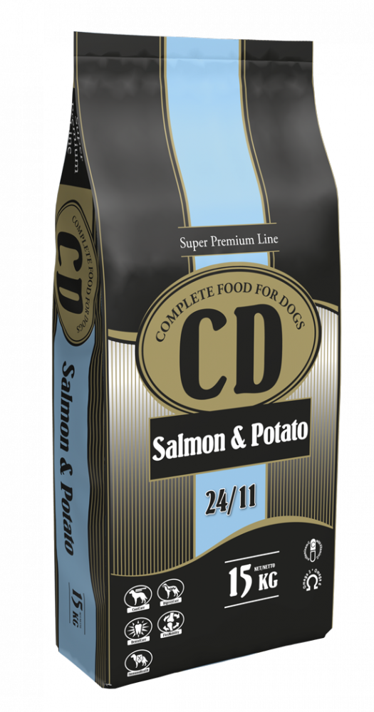 CD SALMON AND POTATO - 15 KG