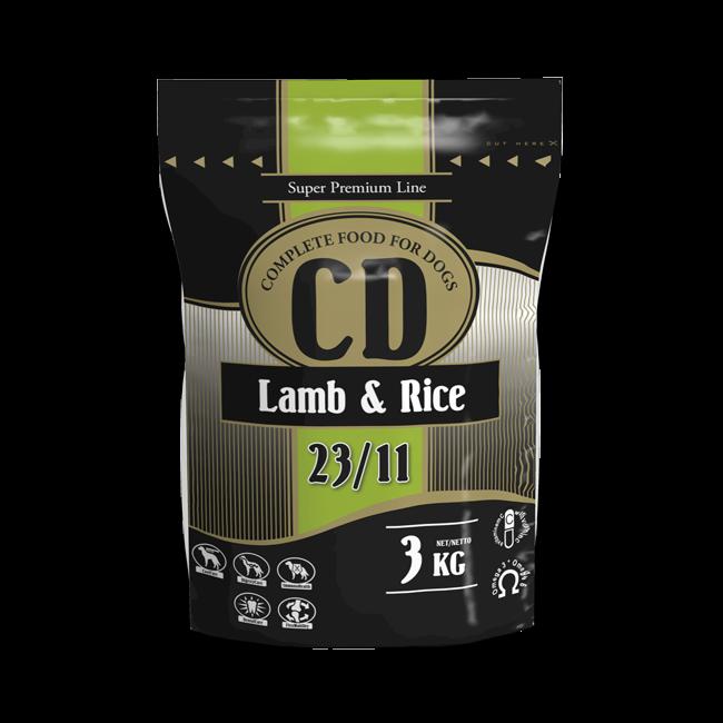CD LAMB AND RICE - 3 KG