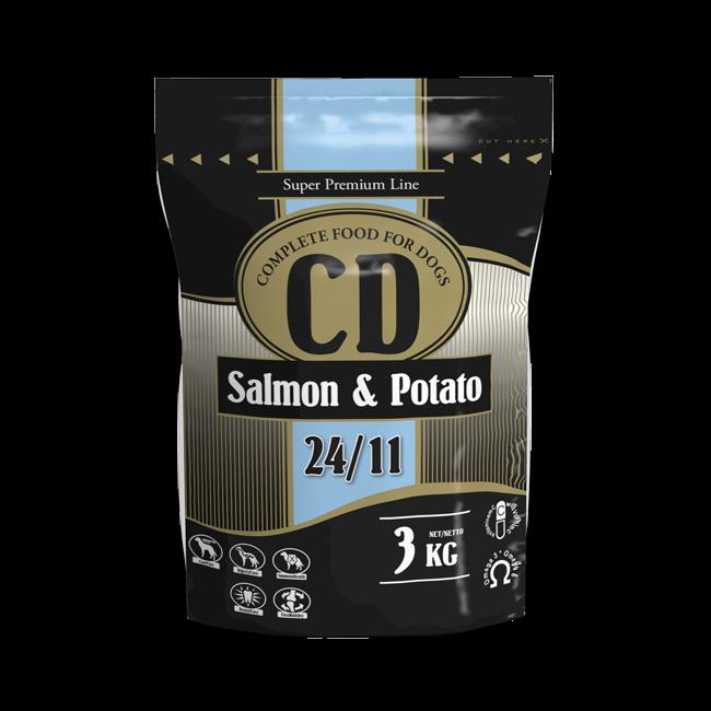 CD SALMON AND POTATO - 3 KG