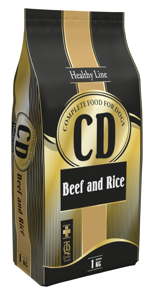 CD BEEF AND RICE - 1 KG