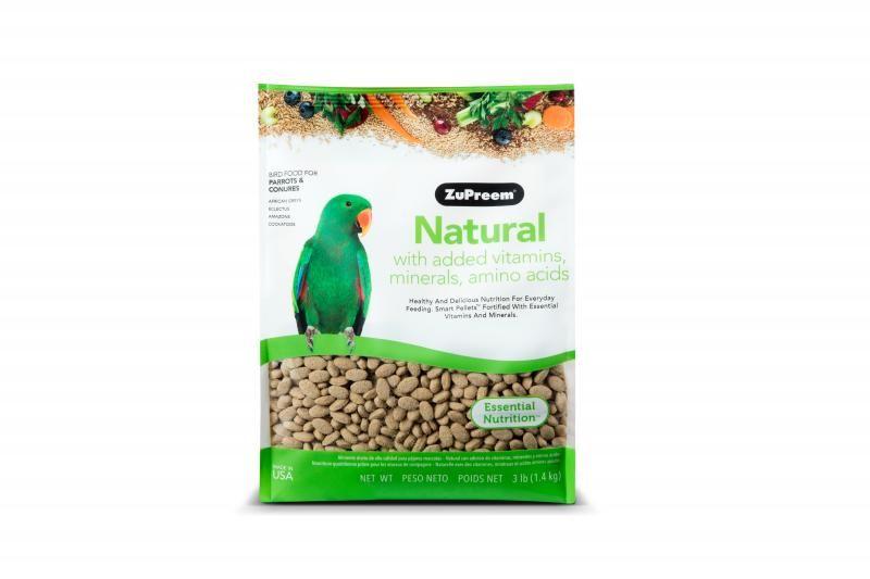 ZuPreem Natural Medium / Large 1,36 kg